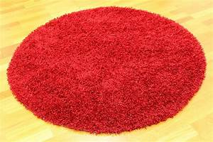 tapis rond 160 cm fancy rouge trendcarpetfr With tapis rouge rond