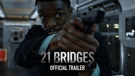 21 Bridges (2019) | Coming soon to theaters, Official ...