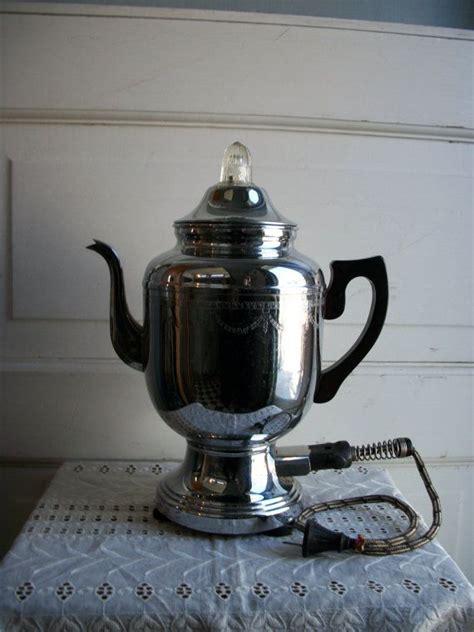 Wählen sie aus erstklassigen inhalten zum thema coffee maker old in höchster qualität. 1930s Farberware Coffee Maker. Had one exactly like it, Went back to get it and ex hubby said..h ...