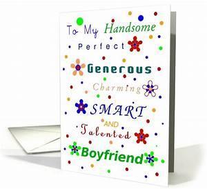 Boyfriend, Happy Birthday!, Compliments card (688845)