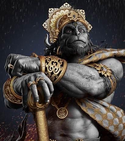 Zbrush Hanuman 3d Gaurav God Kumar Lord