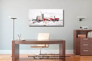 tableau taupe gris moderne a reliefs grand format With couleur moderne pour salon 9 tableau panoramique noir blanc design grand format