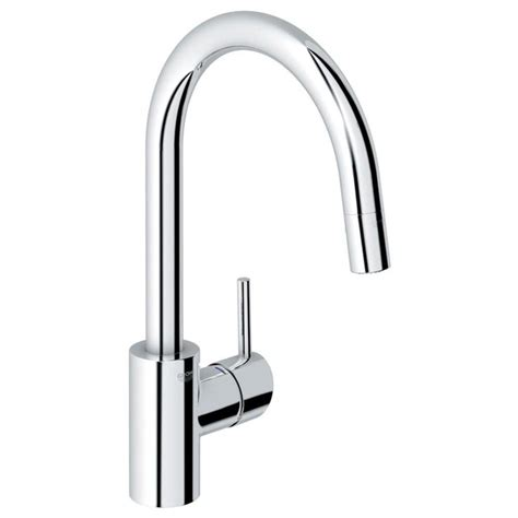 shop grohe concetto starlight chrome 1 handle pull