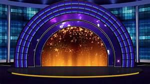 Entertainment TV Studio Set 23 - Virtual Green Screen ...