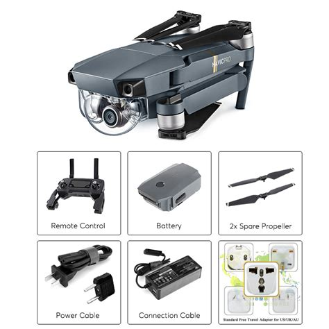 dji mavic pro mini folding camera drone gpsglonass km