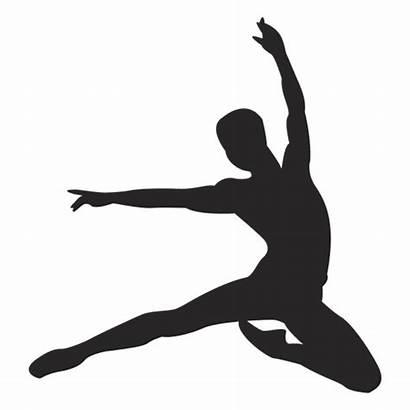 Dancer Silhouette Ballet Slide Transparent Svg Jumping