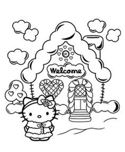 kitty coloring pages     cake transfer