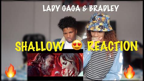 Lady Gaga, Bradley Cooper  Shallow (a Star Is Born) (reaction) Youtube