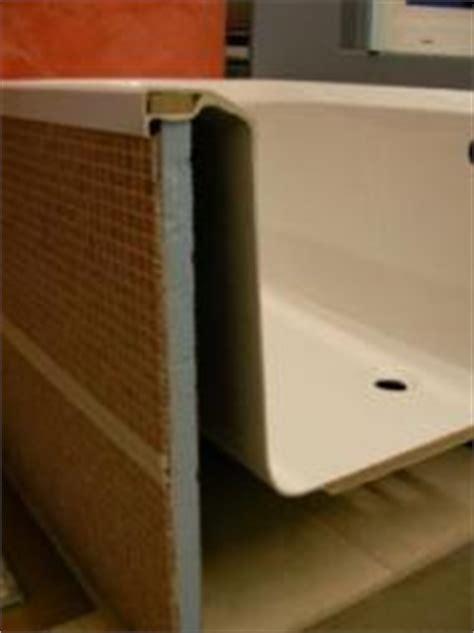 duschkabine für die badewanne badewannen auflage und verkleidung bauunternehmen