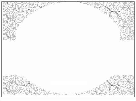 invitation card template word free fancy invitation template blank