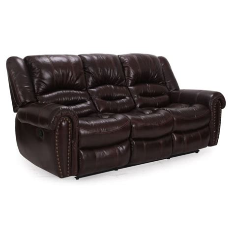 Settee Collection by Cheers 8295 Leather Reclining Sofa Collection Eaton