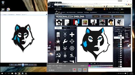 battlefield 1 emblem creation wolf time lapse how to create youtube