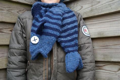 animal scarves  knit  patterns grandmothers