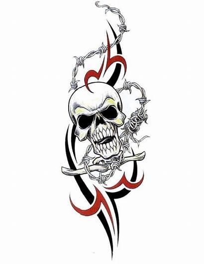Tribal Skull Tattoos Tattoo Evil