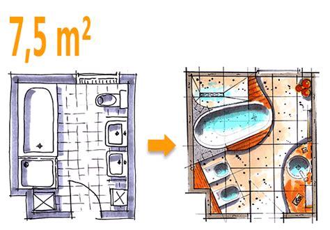 Schönes Bad Auf Kleinem Raum by Badplanung Beispiel 7 5 Qm Badoase Auf Kleinem Raum