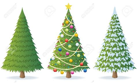 3 christmas trees clipart clipground