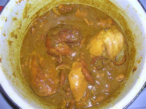 poulet fume africain