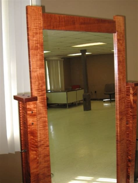 hinged mirror