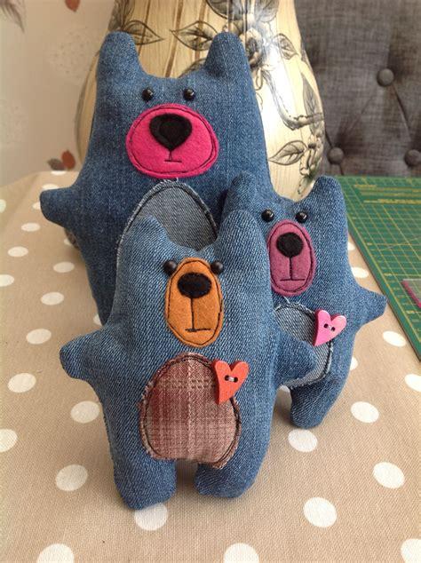 recycled denim bears jeans caseros denim reciclado