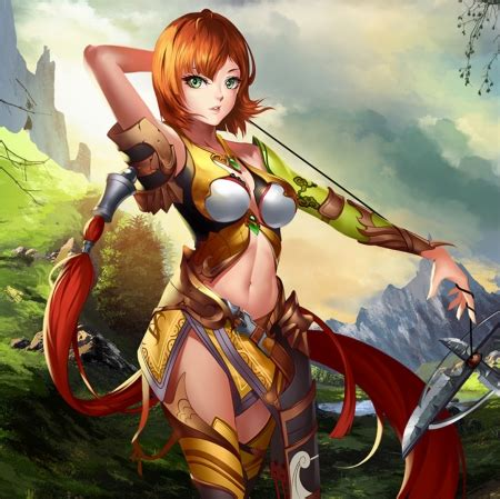 sexy warrior  anime background wallpapers