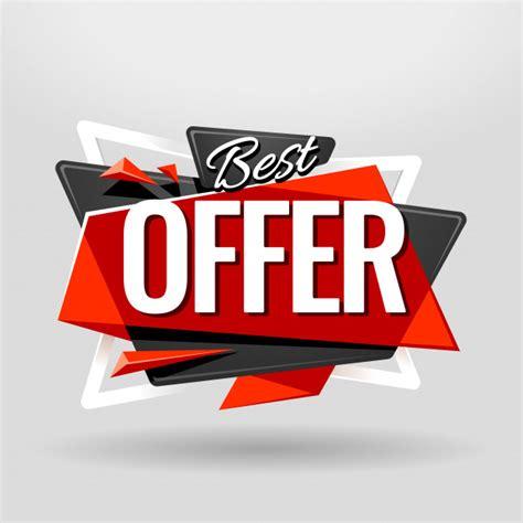 Best Offer Banner Vector  Free Download