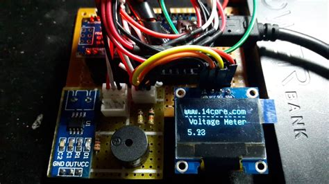 Voltage Meter Test Divider With Nano Youtube