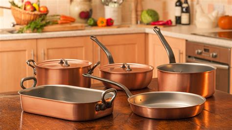 falk copper cookware      factory