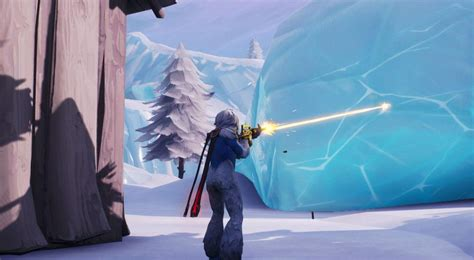 fortnite  event today sees iceberg island melt