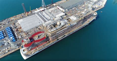 Norwegian Cruise Deck Plans by 4k Video And Photos Of Msc Seaside Construction Cruiseind