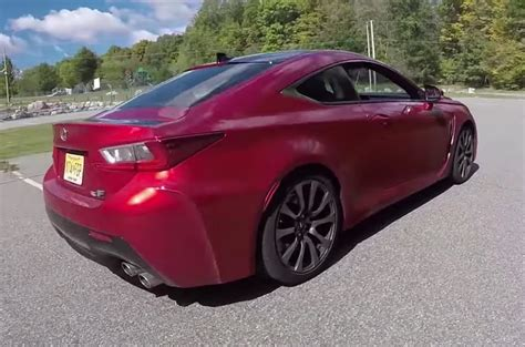 lexus rcf sedan lexus rcf coupe one take doovi