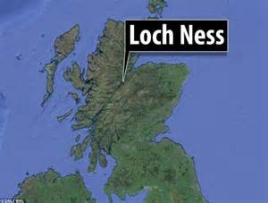 Apple Maps Loch Ness Monster