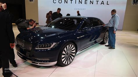 2017 Lincoln Continental Concept by 2017 Lincoln Continental Looks Ready To Take On The