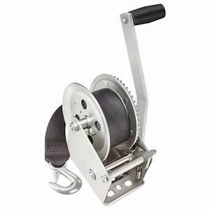 Fulton Winches 1800 Lb  Manual Trailer Winch W  Strap