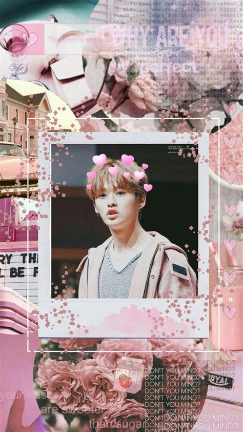 @teenyandherkpopedits stray kids long time no see but i'm back!! Stray Kids Lee Know Aesthetics Wallpapers - Wallpaper Cave