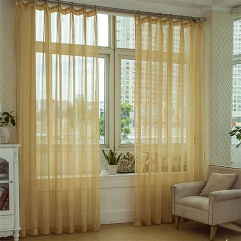 yellow sheer curtains beautiful lines patterned light yellow striped sheer curtains