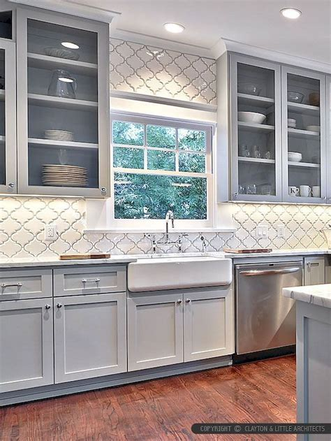 fancy farmhouse kitchen backsplash decor ideas