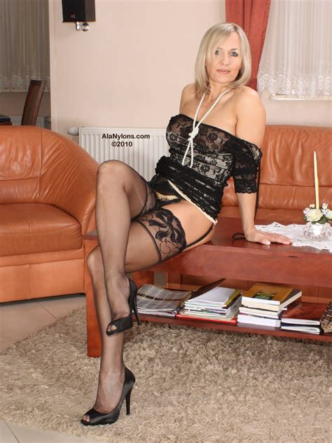Ala Nylon From Poland Sexy Polish Milf Fetish Porn Pic