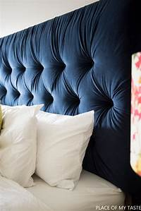 how to make a tufted headboard Tufted headboard - how to make it own your own tutorial