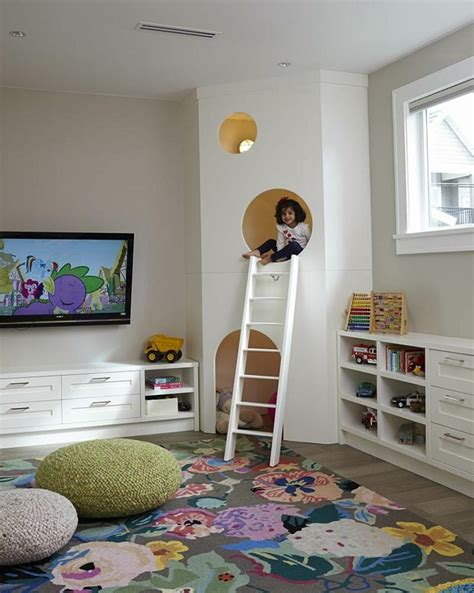 chambre des enfants déco chambre enfant des cachettes et des aires de jeux