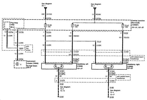 Wiring Diagram 2005 Ford F450 Xl by Low Beams Problem Ford Truck Enthusiasts Forums