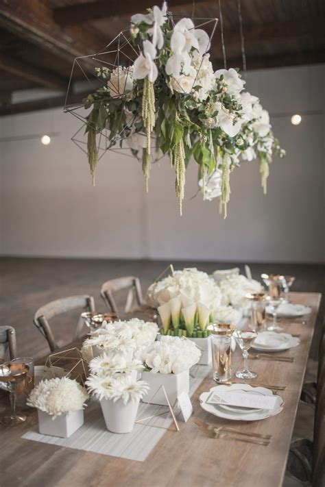 gorgeous geometric inspired chicago wedding modwedding