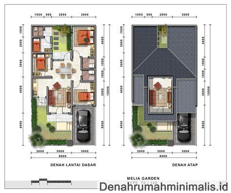 desain rumah minimalis modern  lantai  desain