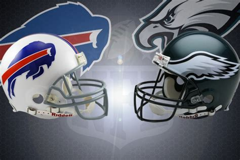 nfl week   buffalo bills  philadelphia eagles