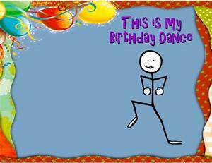 Birthday Dance Ecard Free Funny Birthday Wishes Ecards