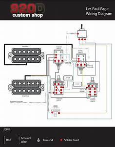 Gibson Sg Epiphone Jimmy Page Wiring Harness W  Bourns