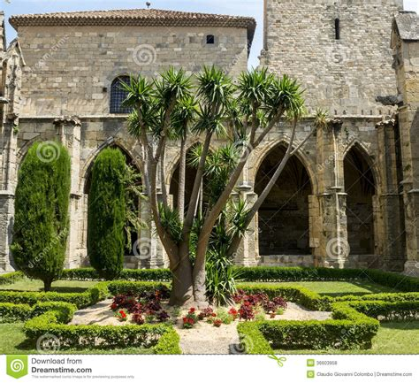 Narbonne Cathedral Stock Image  Cartoondealercom #34061359