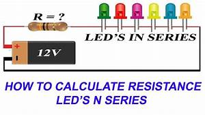 How To Connect Leds In Series And Calculate Current