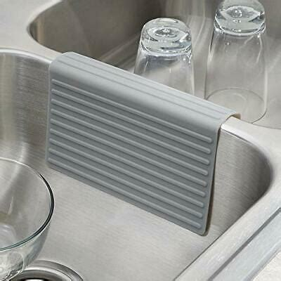 silicone double sink divider protector saddle mat kitchen