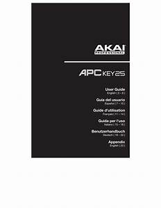 Apc Key 25 User Guide