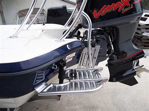 Boat Swim Platform With Ladder For Sale by Custom Dive Swim Platforms By Action Welding Cape Coral
